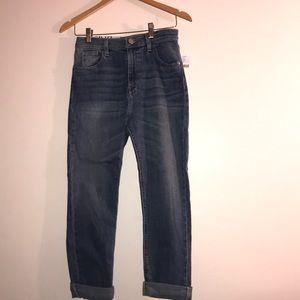 urban outfitters- girlfriend high rise denim jeans